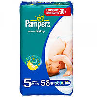 Подгузники Pampers Active Baby Junior 5 (11-25 кг) Jumbo Pack 52 шт