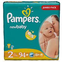Подгузники Pampers New Baby Mini 2 (3-6 кг) 94 шт