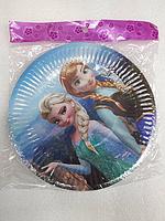 """Акция !!! Тарелки для детского  Дня Рождения """"Холодное сердце"""""""