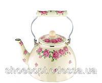 Чайник эмалированный 4л для всех плит