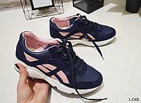 Кроссовки VICES синие отличного качества, очень удобные, женская обувь