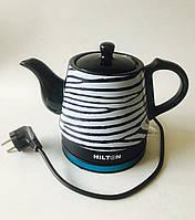Электрочайник керамический 1,2 л HILTON WK9232