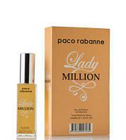 Мини парфюм Lady Million Paco Rabanne 40 мл в подарочной упаковке (для женщин)