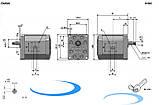 Шестеренный насос ELI3-33.3/ Gear Pump ELI3-33.3, фото 2