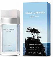 Женская туалетная вода Light Blue Dreaming in Portofino Dolce&Gabbana (свежий, легкий, романтичный) AAT , фото 1
