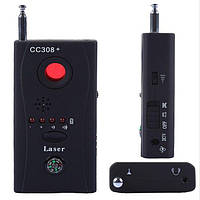 Обнаружитель скрытых видеокамер Детектор скрытых камер и жучков CC-308+