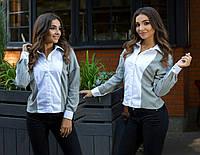 Рубашка с длинным рукавом женская ЕТУ7230