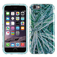 Чехол Speck Apple iPhone 6, iPhone 6s Candyshell Inked Luxury Edition Silver Leaves/River Blue (SP-73776-5042)