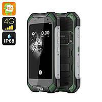 Смартфон Blackview BV6000S IP68, 2/16Gb, 4G, Android 6.0, 4500mAh, черно-зеленый