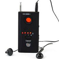 Cc308 двойной детектор для обнаружения жучков, линз, камер и др.
