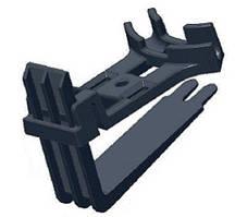 Кріплення для кабелю на покрівлі DEVIclip Guardhook (20/10/30 шт.)