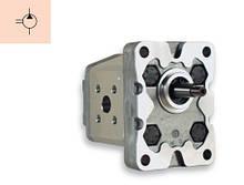 Внешние однонаправленные шестеренные насосы Marzocchi KL1PG / Marzocchi external single gear KL1PG pumps