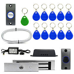 Электромагнитный замок ЕМ180-Е комплект для самостоятельной установки