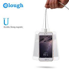 Elough E04 магнитный кабель Lightning для iPhone. Серебристый. Лучшее качество!, фото 3
