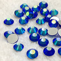 Стразы Sapphire AB SS6 холодной фиксации. Цена за 144 шт, фото 1