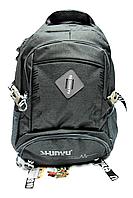 Модный мужской рюкзак SHUNYU темно-серого цвета EEP-966450, фото 1