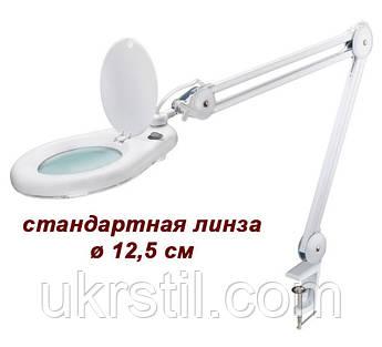 Лампа лупа настольная 8066, 5 диоптрий