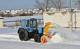 Снегоочиститель фрезерно-роторный ДЭМ 124, фото 4