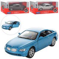 Машинка Welly NEX металлическая инерционная BMW 645CI, 42353CW, 006693
