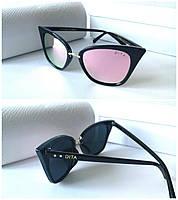 Женские очки Dita Новинка розовая зеркальная линза хамелеон