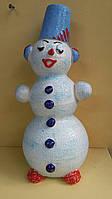 Снеговик из керамики, 26-28 см., 75 гр.