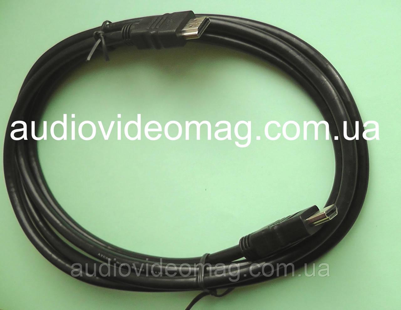 Кабель HDMI - HDMI, длина 2 метра