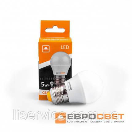 Лампа світлодіодна ЄВРОСВІТЛО Р-5-3000-27, фото 2