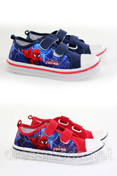 Кеды для мальчиков Spiderman 26-33 р.р.