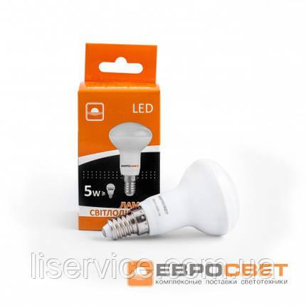 Лампа світлодіодна ЄВРОСВІТЛО R50-5-3000-14, фото 2
