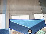 Комплект японских занавесок Сине-голубые, фото 2