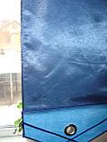 Комплект японских занавесок Сине-голубые, фото 5