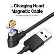 Mantis магнитный кабель Micro-USB угловой. Серебристый. Лучшее качество!, фото 3