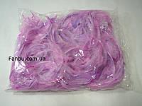 Декоративные нежно сиреневые перья в пакете(1уп 120-130перьев), фото 1