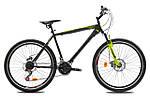 """Горный велосипед TOTEM MTB FAITH  26"""",19""""  Черный/Салатовый"""