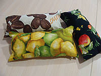 Комплект подушек  3шт виноград лимон, кофе, фото 1