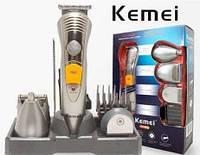 Электрический триммер для стрижки Kemei KM 580-А, 7 в 1 (машинка для стрижки)