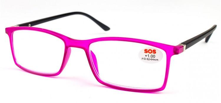 Очки для чтения SOS P16065-2 унисекс цвета в ассортименте