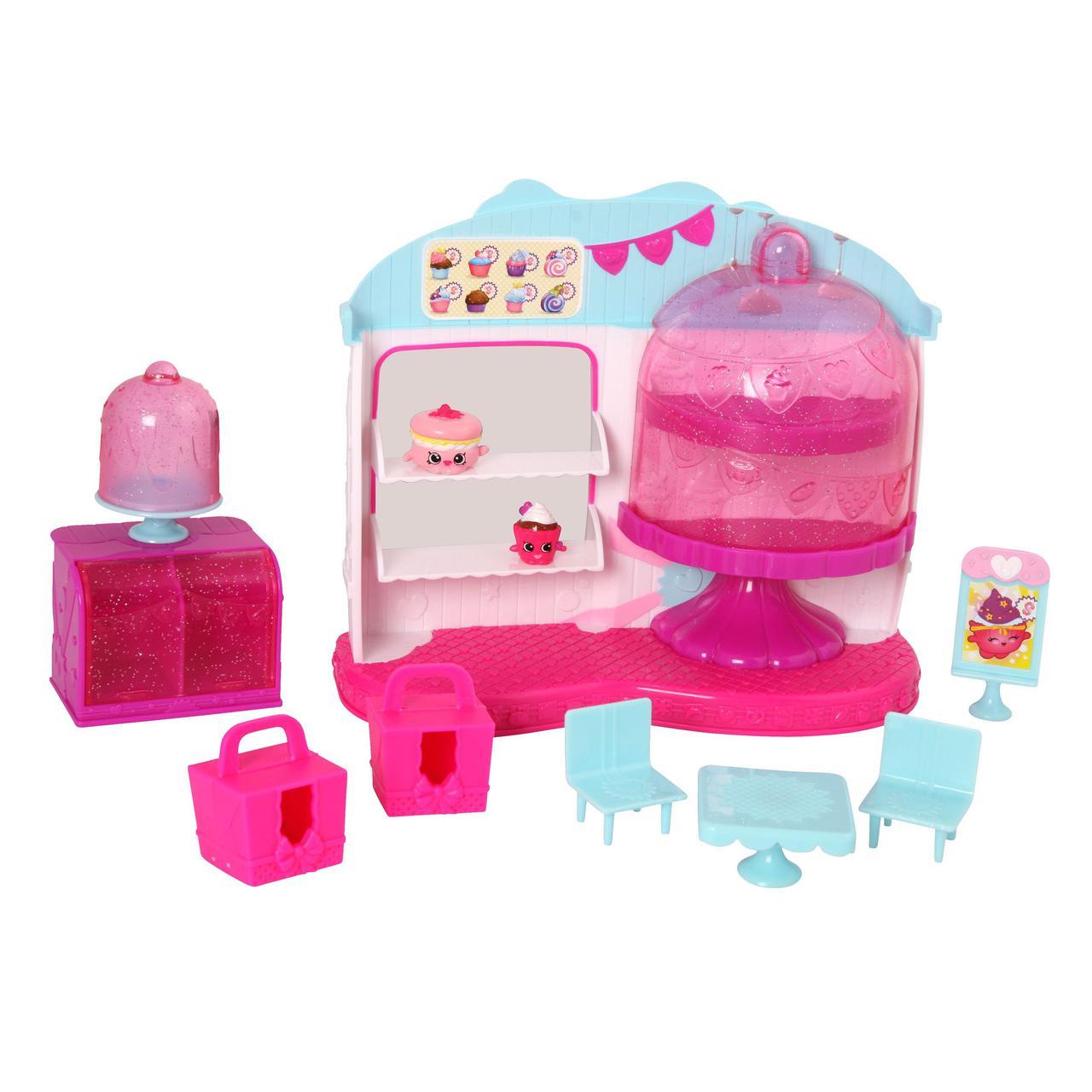 П, Игровой набор Shopkins S4 - Королевское капкейк-кафе