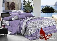 Комплект постельного белья ТМ TAG Евро, постельное белье Евро R30515