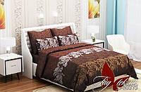 Комплект постельного белья ТМ TAG Евро, постельное белье Евро (evro) RC20375