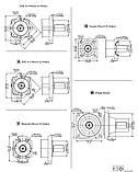 Гідромотор 1:10 з конічним валом, шипована EPMTW, фото 3