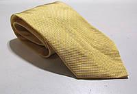 Галстук DUETZ желтый, шелк, 8 см, Как Новый!
