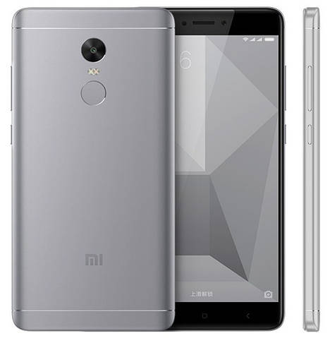 Смартфон Xiaomi Redmi Note 4X 3/32Gb LTE Grey (Qualcomm Snapdragon 625)