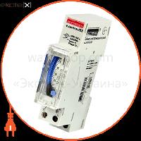 Enext Таймер електромеханічний 18мм e.control.t03