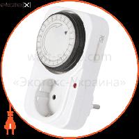 Enext Таймер електромеханічний розеточний добовий e.control.t11