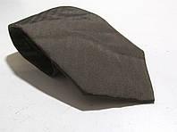 Галстук DUETZ темный, шелк, 8,5 см, Как Новый!