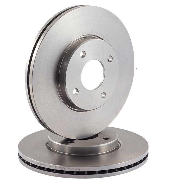 Тормозные диски передние на Renault Clio 2, Clio 3