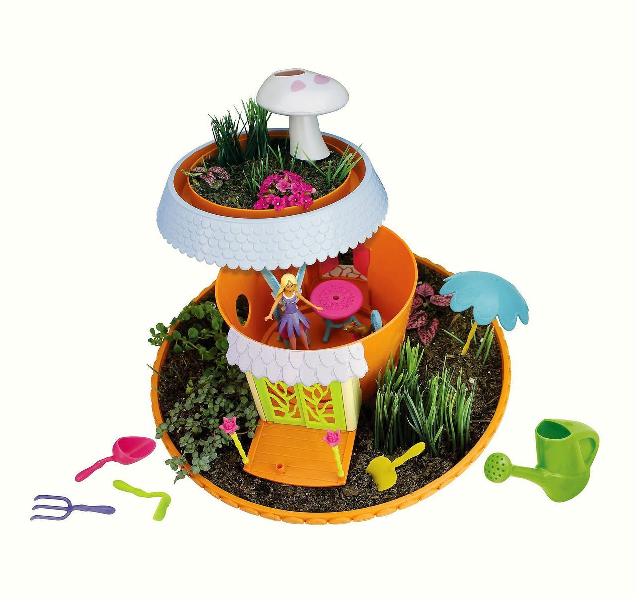 Набор для выращивания My Fairy Garden Magical Cottage Playset Мой волшебный сад с домиком феи