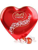 Конфеты Lindt Lindor «Сердце» из молочного шоколада, ж/б 187 г. Италия