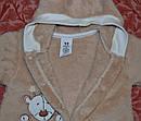Комбинезон для новорожденных хлопковый велсофт Медвежонок (р. 50-74 см), фото 3